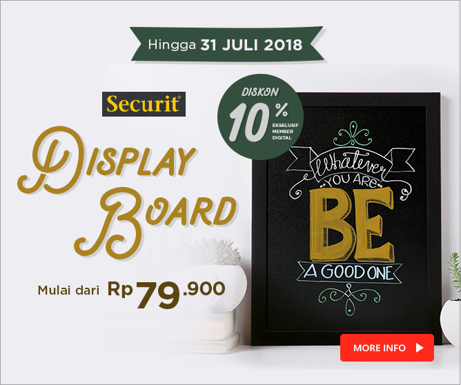 New Product! Securit Display Board