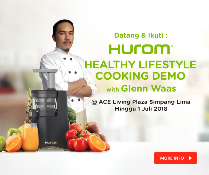 Hurom Healthy Lifestyle Cooking Demo