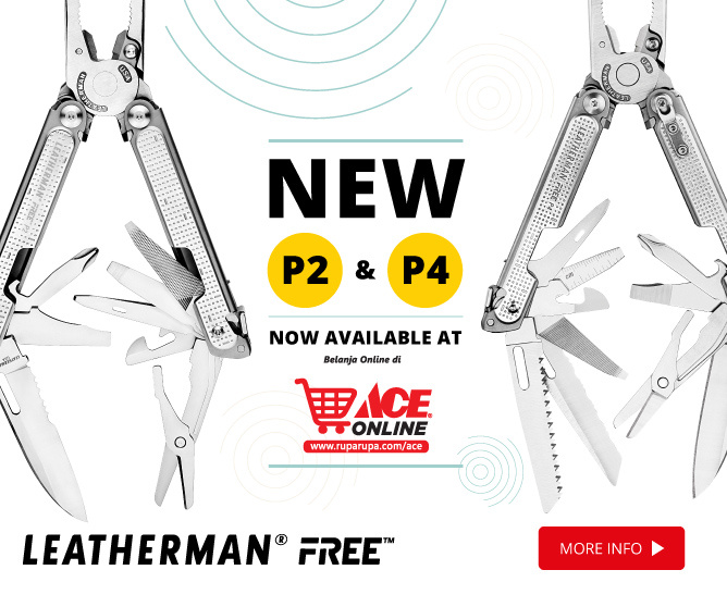 New Arrival! Leatherman Free P2 and P4 Now Available at ACE Online