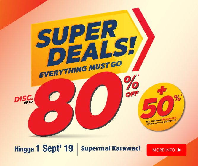 Super Deals Supermal Karawaci