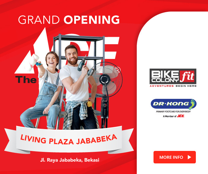 Grand Opening ACE, Bike Colony dan Dr Kong Jababeka