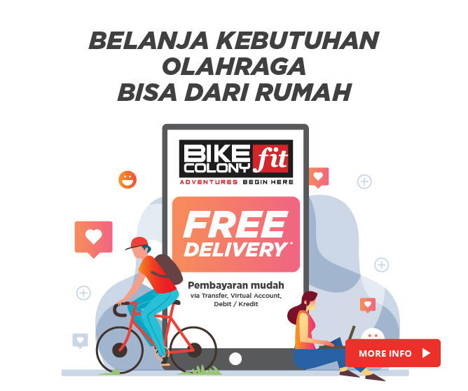 Free Delivery Bike Colony Fit