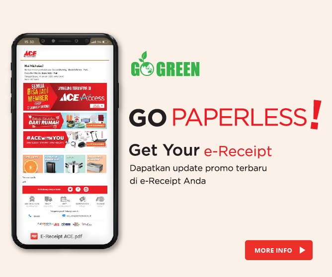Go Paperless with e-Receipt
