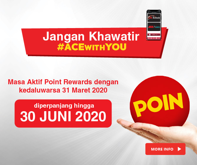 Masa Aktif Point Rewards Diperpanjang!