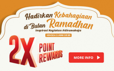 2x Point Rewards Selama Bulan Ramadan
