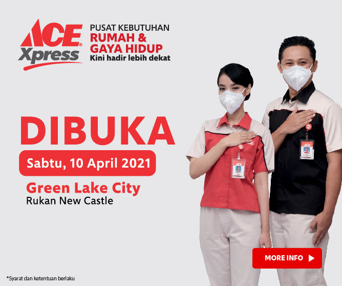 Telah Dibuka, ACE Xpress Greenlake City!