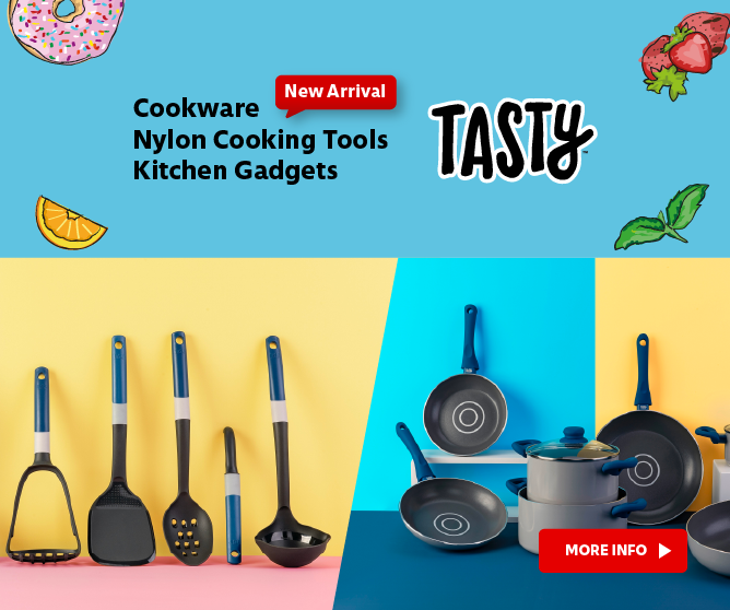 Tasty Cookware, Nylon Cooking Tools & Kitchen Gadgets