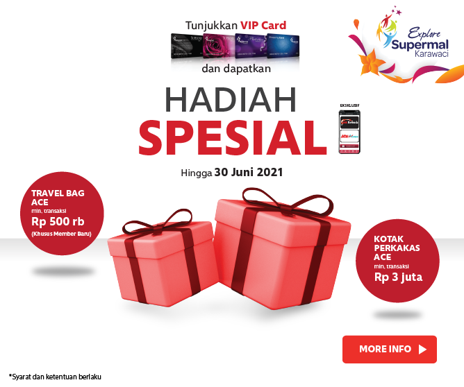 ACE x VIP Card Supermal Karawaci
